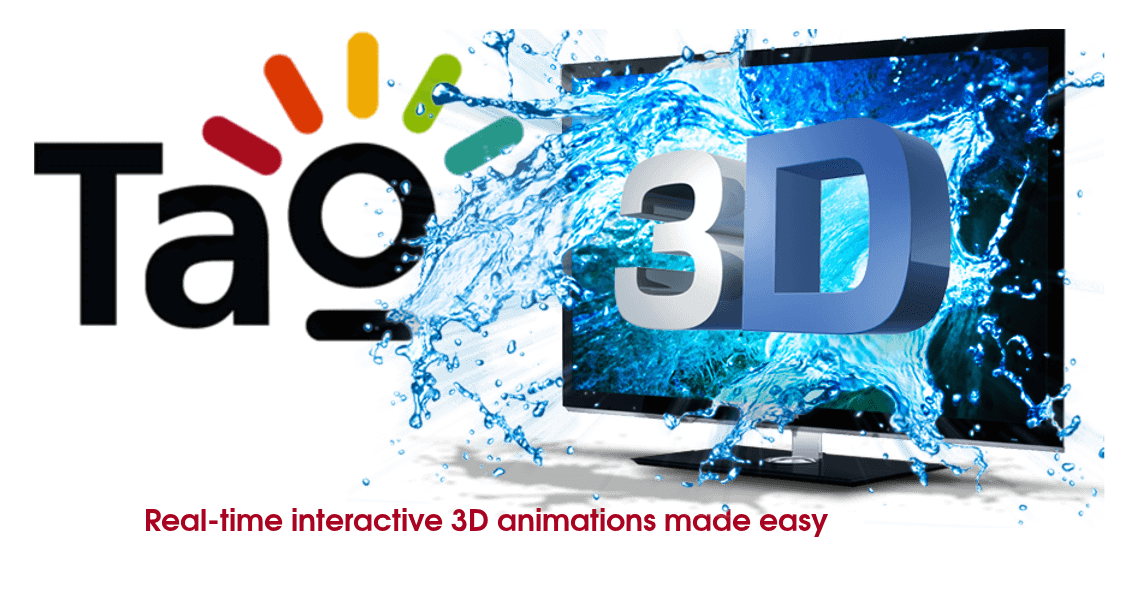 Interactive 3D made easy